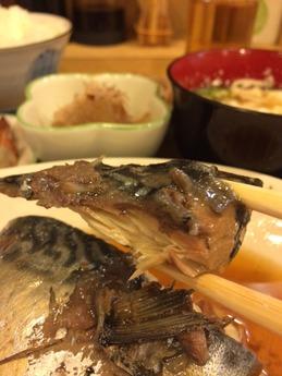 かれん 煮魚定食 800円 (2)