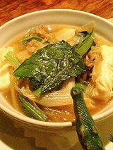 ピリ辛肉豆腐(300円)