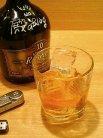 今夜はウイスキーをロックで