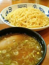 風風ラーメン 節豚つけ麺(700円)