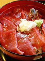まぐろ丼(1000円)