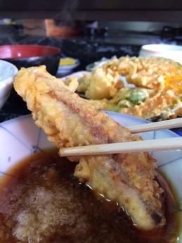 長野 天麩羅定食 600円