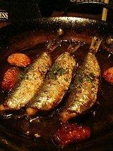 イルアルバータ イワシのガーリックオイル焼き