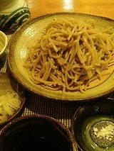 石臼手挽き十割蕎麦(1260円)