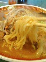 南里飯店 味噌ラーメン(590円)