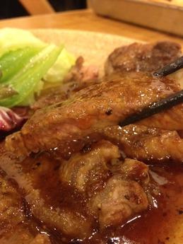 山ちゃん ステーキ