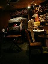 店内のピザ釜!これであの激ウマピザが焼かれます。