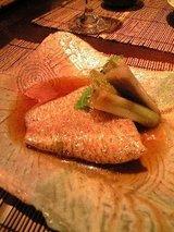 竹膳 特撰のどぐろ煮付け(1650円)