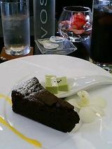 デザート(ガトーショコラ)