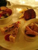 ベジキッチンやまつじ シェフのおすすめ3種盛り合わせ(1000円)