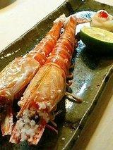 富久寿司 海老塩焼き
