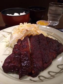キッチンなごや 味噌ロースカツ定食 1320円