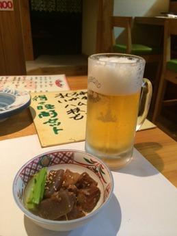 喜久盛 生ビール
