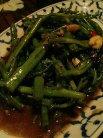 空芯菜の炒め物(パット・パッブン・ファイデーン)945円