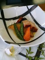 インゴットラウンジ 野菜とベーコンの小鉢