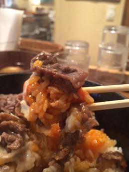 もりおか 牛すき丼 800円 (2)