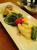 アルベロ 旬野菜の蒸焼き1000円