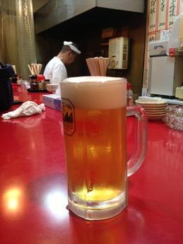 ひとっちゃん 生ビール