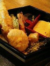 天ぷら、炊き合わせ、出し巻き