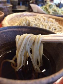 おおひら 天然山菜天せいろ 1400円 (1)