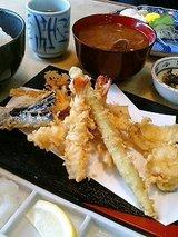 大番 天ぷら定食(1291円)