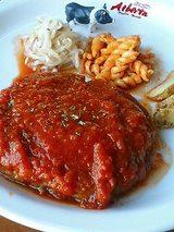 トマト煮こみハンバーグ
