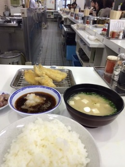 ひらお 天ぷら定食