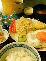 タジマハール ハンバーグ定食 800円