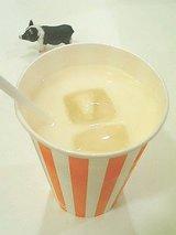 名物のミルク(アイス)