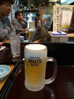 津 嬉すし ビール