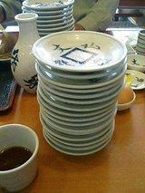 文楽 皿そば食べ放題3