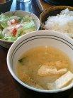 サラダ・味噌汁・ご飯