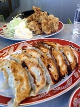 南里飯店 花田 餃子と唐揚げ