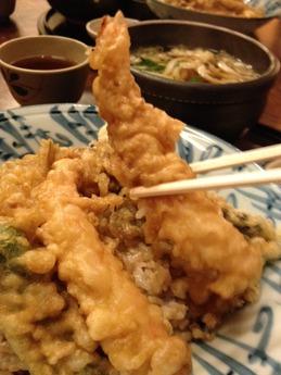 竹  天婦羅丼 1000円