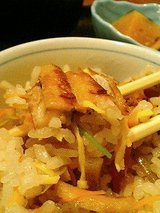 米の音 あなご釜飯セット(1200円)