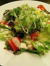 水菜のしゃっきりサラダ(630円)