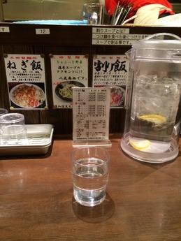 三田製麺所 店内