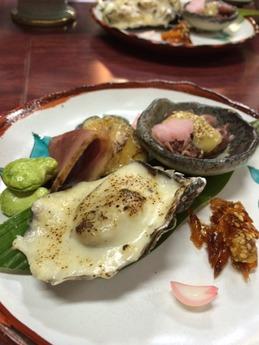 西飾磨どい寿し 前菜 (1)
