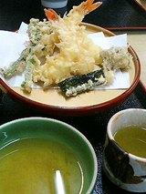魚徳 上天ぷら定食(1155円)