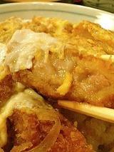 楽 煮かつ丼 1050円