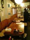 白龍 テーブル席