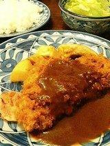 欧風料理なかむら ビーフカツレツ(900円)