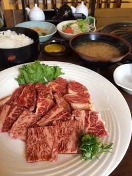たから 焼肉膳 1880円 (1)