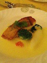 レストラン 三笠 甘鯛のポアレ