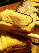 蟹味噌の玉子焼(880円)