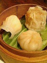 上海小籠包、蝦餃子、焼売