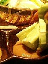 ばりうま かぶ&キャベツの三種味噌(390円)