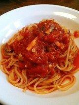 ピエーノ ディ ソーレ 本日のトマトソースパスタ