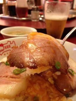 紅宝石 ランチ  焼豚丼