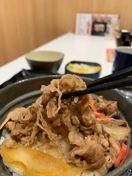 熊本駅吉野家 (4)